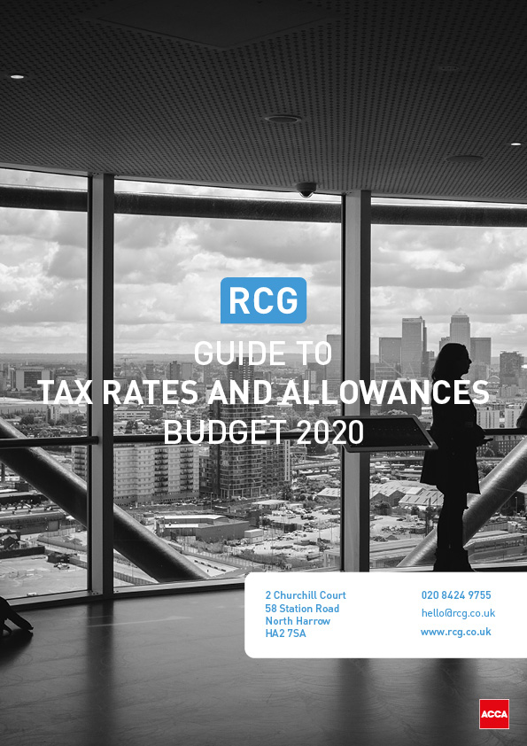Rcg Tax Rates And Allowances 2020 01